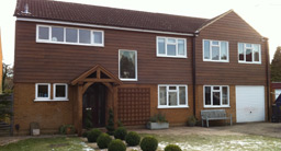 Two storey Extension Front Shot