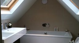 Ensuite Bathroom to Master Bedroom in Loft